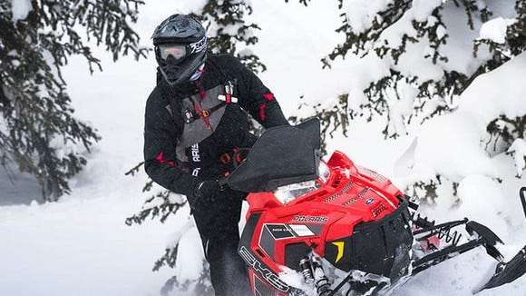 All snowmobile trails in Door County are closed.