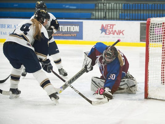 Spaulding vs. Essex Girls Hockey 02/10/16