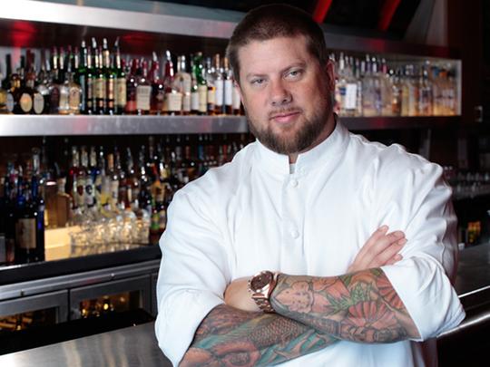 Dorian chef Matthew McLinn.