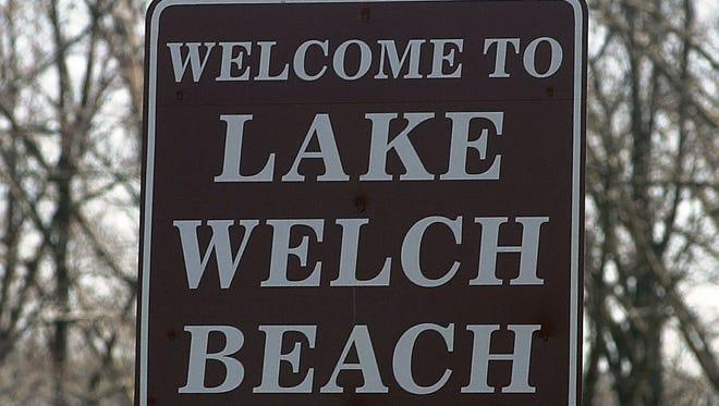 Lake Welch in Harriman