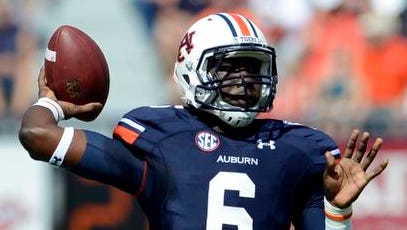Jeremy Johnson may start Auburn's season opener against Arkansas if Nick Marshall's punishment includes playing time.