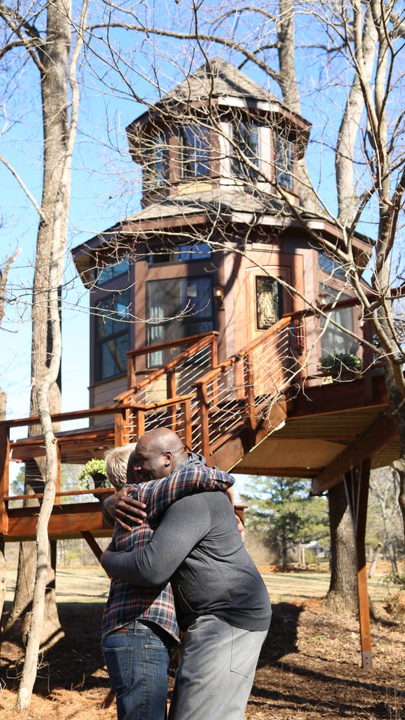 Shaq's new treehouse is probably nicer than where you live