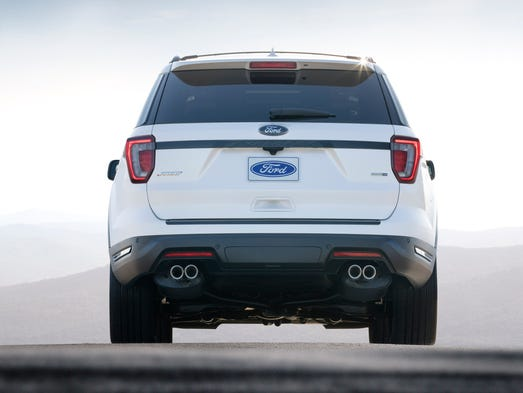 Ford Reveals Updated Explorer For 2018 Model Year