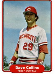 Dave Collins played Major League Baseball for 16 seasons, including seven seasons with Cincinnati during two stints.
