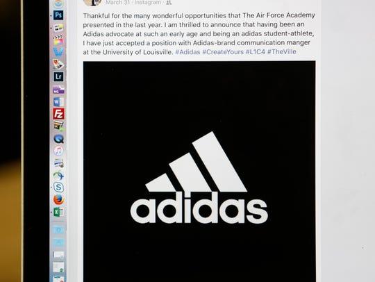 A screenshot of Haley Jurich's Facebook post.