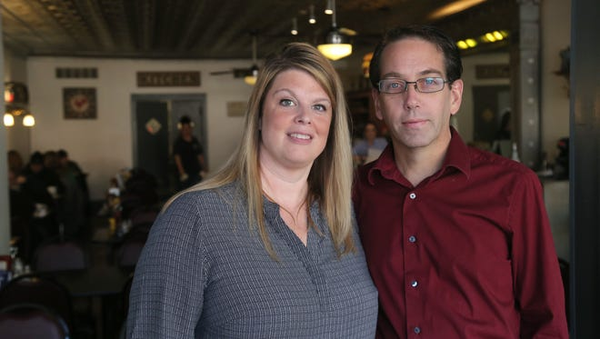 Holly and Steven Rose are the co-owners of Bistro 217 in Galion. The restaurant was formally the Big Plate Diner.