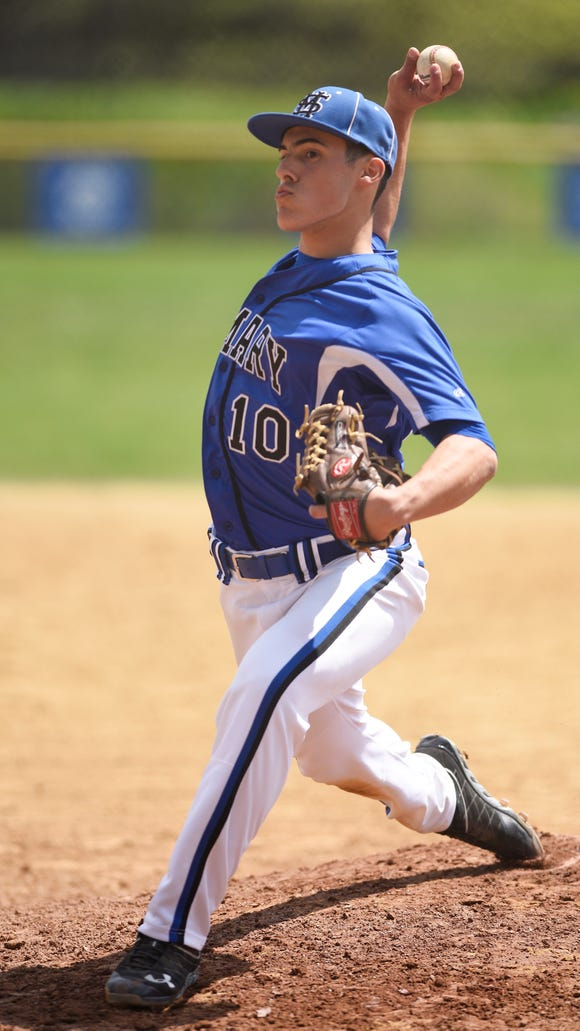 Greg Dahl of St. Mary joined the 2017 North Jersey