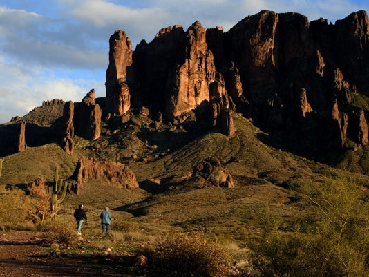 Superstition Mountains in AJ