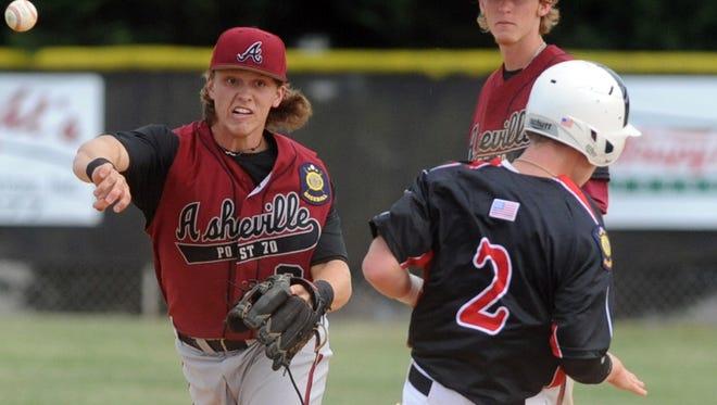North Buncombe graduate Carson Jones is a freshman on the Appalachian State baseball team.