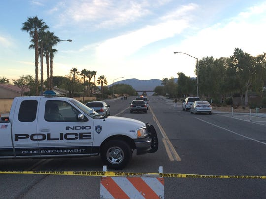 Motorists who use Madison Avenue between avenues 48 and 49 were asked to use alternate routes as the roadway was closed Dec. 5 following an officer-involved shooting. An Indio police officer fatally shot a suspected thief shortly before noon that day.