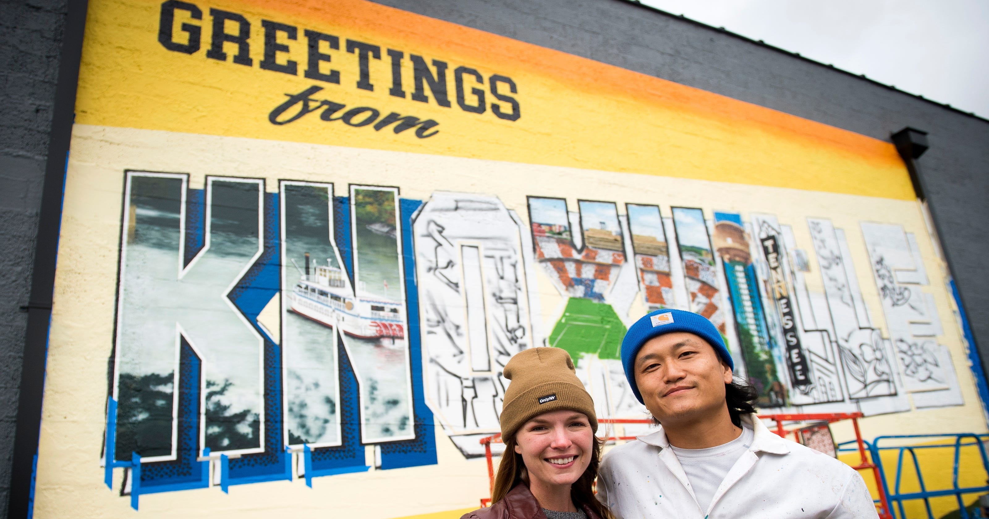 Greetings From Knoxville Mural Part Of National Plan