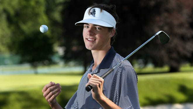 Danny Gianniny, 2017 All-Greater Rochester Golfer of the Year
