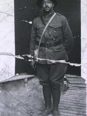 Dr. Urbane Bass of Richmond, Va., died in World War I combat in France in October 1918 while treating wounded soldiers at the front.