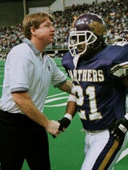 Terry Allen coached at Northern Iowa for eight season
