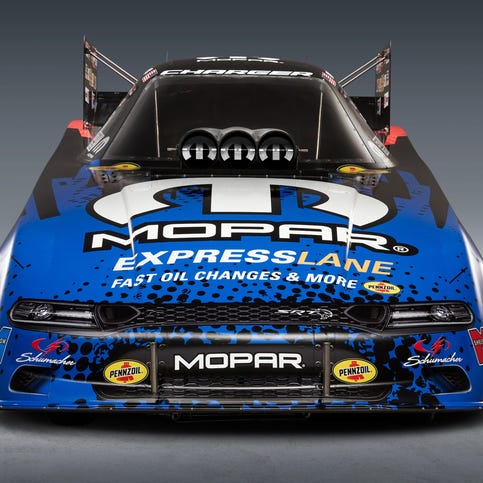 Charger Hellcat births 10,000-hp Funny Car dragster