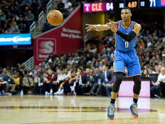 Russell Westbrook was selected to his fifth All-Star