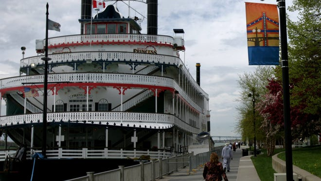 The city says CJC Cruises, which operates the Detroit Princess Riverboat based from the downtown riverfront, owes $52,000. The company did not respond to messages seeking comment.