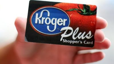 Kroger, based in Cincinnati, lowered its 2017 profit outlook Thursday, June 15, 2017. In releasing earnings, the grocer adjusted its net earnings guidance range to $2 to $2.05 per diluted share, down from a range of $2.21 to $2.25 per diluted share.