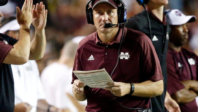 Mississippi State coach Dan Mullen is optimistic there's still time for his team to improve.