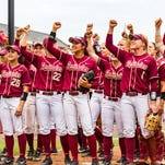FSU beats Georgia 8-5 to reach another Super Regional