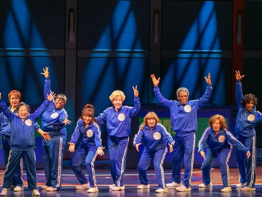 """The cast of """"Half Time"""" at Paper Mill Playhouse"""