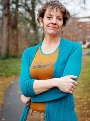 Amy Knisely, professor and chair of the environmental