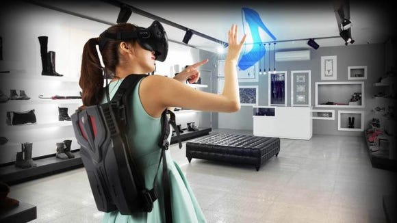 This VR-Ready computer looks like a jetpack, and it's awesome