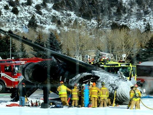 AP Colorado Plane Crash