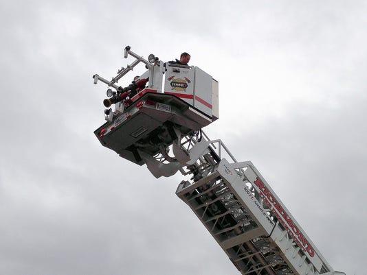 Richmond Fire Department truck check