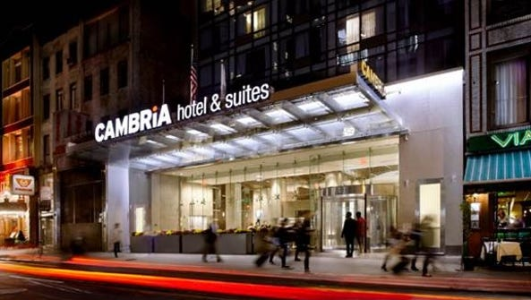 Choice Hotels, parent company of Cambria hotel and