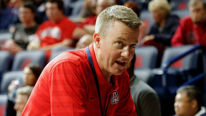 Alabama is hiring Arizona athletic director Greg Byrne to replace retiring athletic director Bill Battle. The university announced Monday, jan. 16, 2017,  that Byrne will take over March 1. The hire needs approval from Alabama trustees.