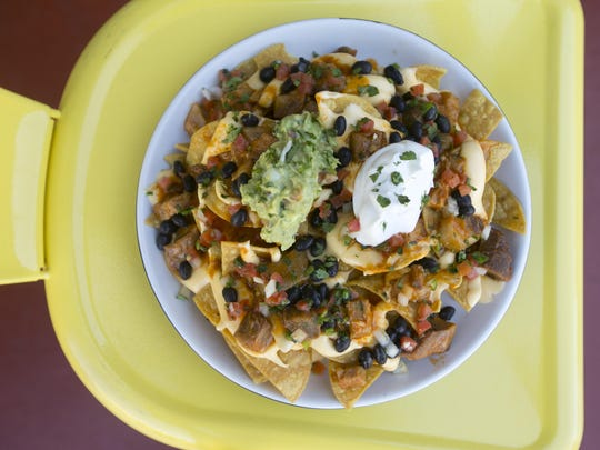 Nachos at the Culinary Dropout in Scottsdale.