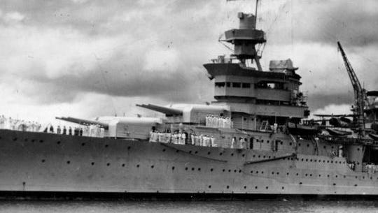 a story of survival  michigan man remembers uss