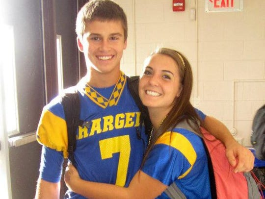 Spotswood High School sweethearts Nicole Surace and Jeff Szatkowski