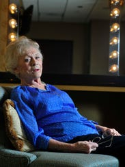 Country singer Jean Shepard at the Grand Ole Opry House