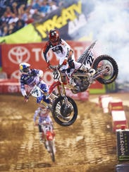 El espectáculo del Monster Energy AMA Supercross series