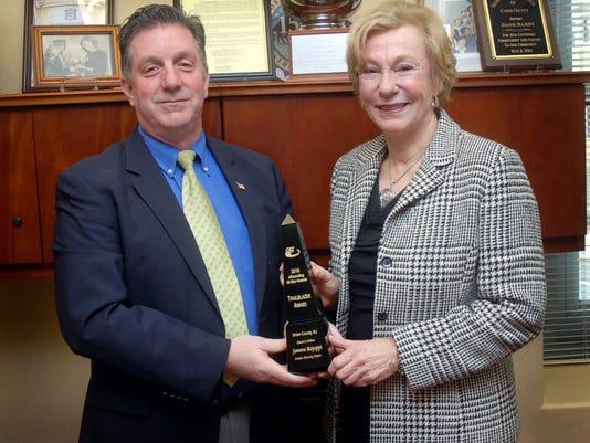 Union County Clerk recognized for tech achievement