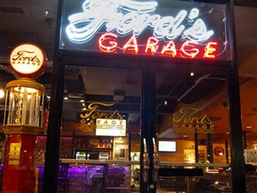 Ford Garage Restaurant >> Ford's Garage lands historic rights to Ford Motor Co.