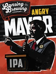 When Mayor Virg Bernero leaves office on Jan. 1, a local business will still sell Angry Mayor IPA beer in his honor.