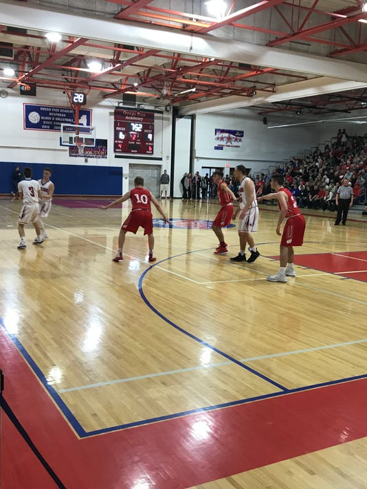Waverly vs. Owego basketball