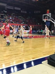 Action from Saturday's Section 4 Class B girls championship.