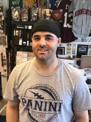 Jeff Francis, owner of Main Street Sports Cards VT