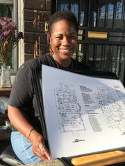Shamayim Harris, also known as Mama Shu, who heads Avalon Village in Highland Park.