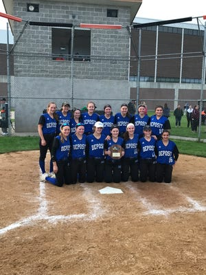 Deposit marches on to final four of Class D softball -- once again.