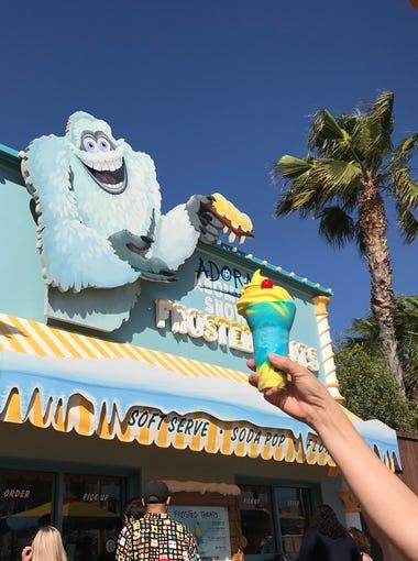 The Pixar Pier Frozen Parfait is a can't-miss treat at Disney California Adventure.