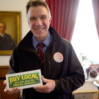 Matt Dunne launches his Democratic bid for Vermont governor in Barre on Monday.
