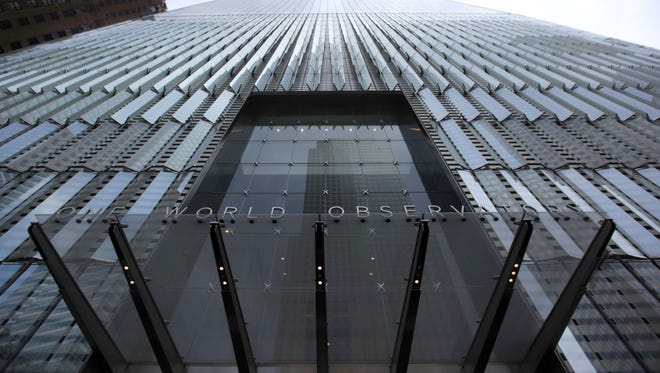 This photo shows the observatory at One World Trade Center in New York, Thursday, May 28, 2015.