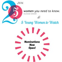 Nominations are open for Tallahassee Democrat's 25 Women You Need to Know