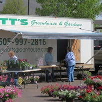 Callaway's will host a farmers market in its parking lot on Wednesday and Saturday starting May 2.