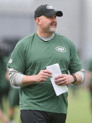 John Morton, now with the Jets, spent a year calling